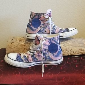 CONVERSE HIGH TOP SHOES WOMENS 8
